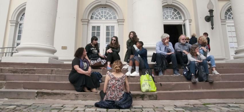 Some of the class in Kassel, taken by Rosca Warries